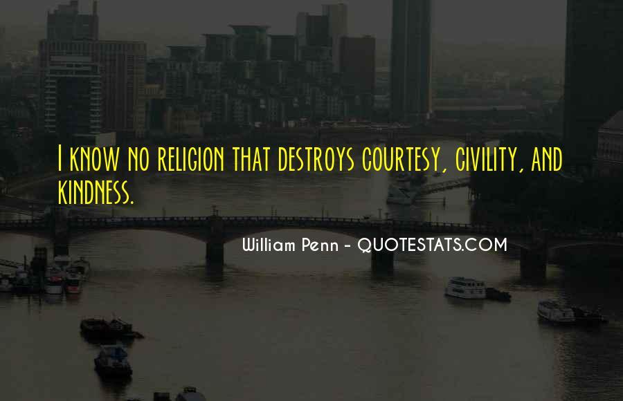 Religion Destroys Quotes #49732