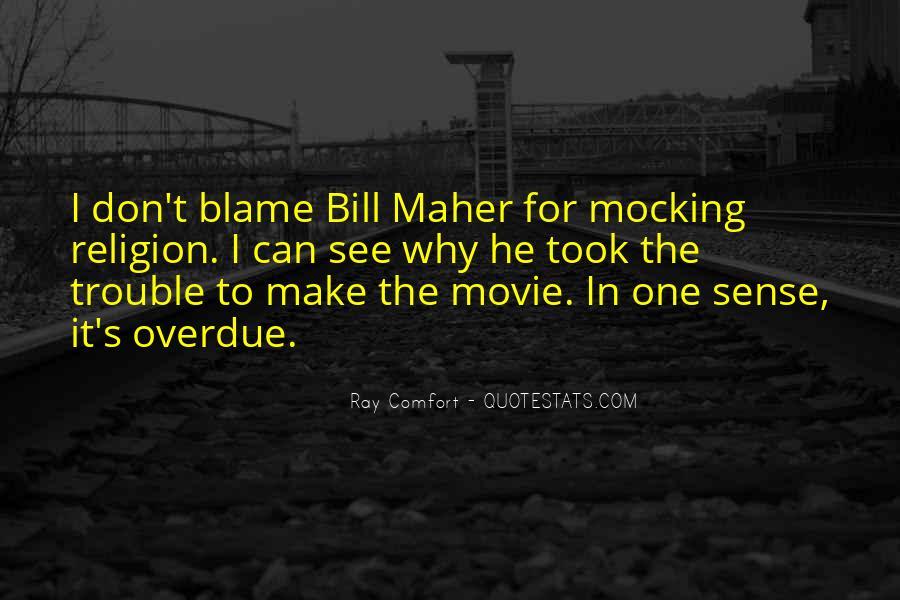 Religion Mocking Quotes #526712