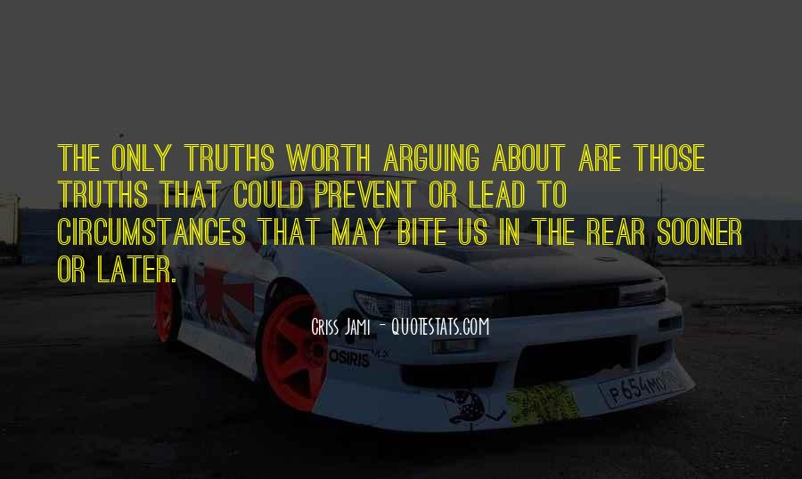 Quotes About Arguing Politics #1433750