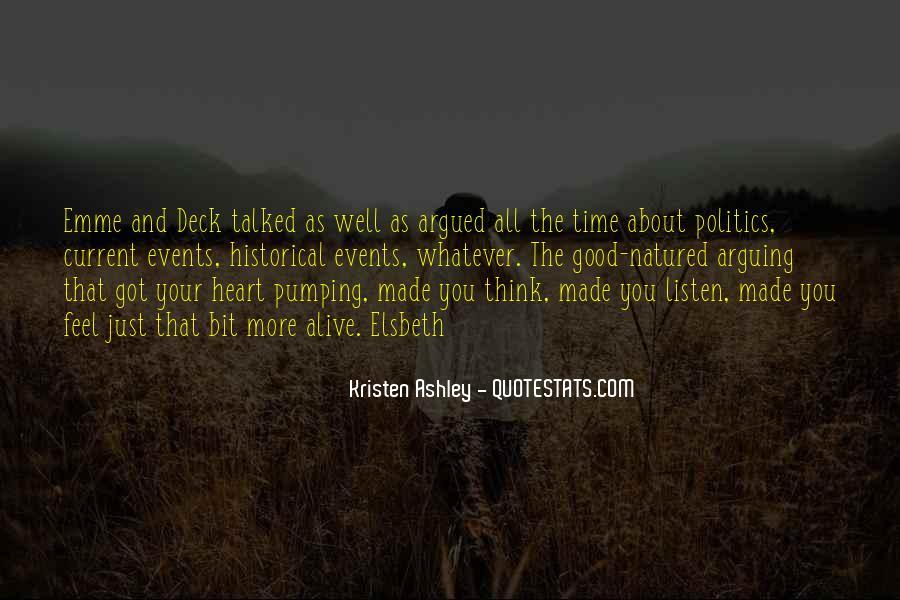 Quotes About Arguing Politics #969360