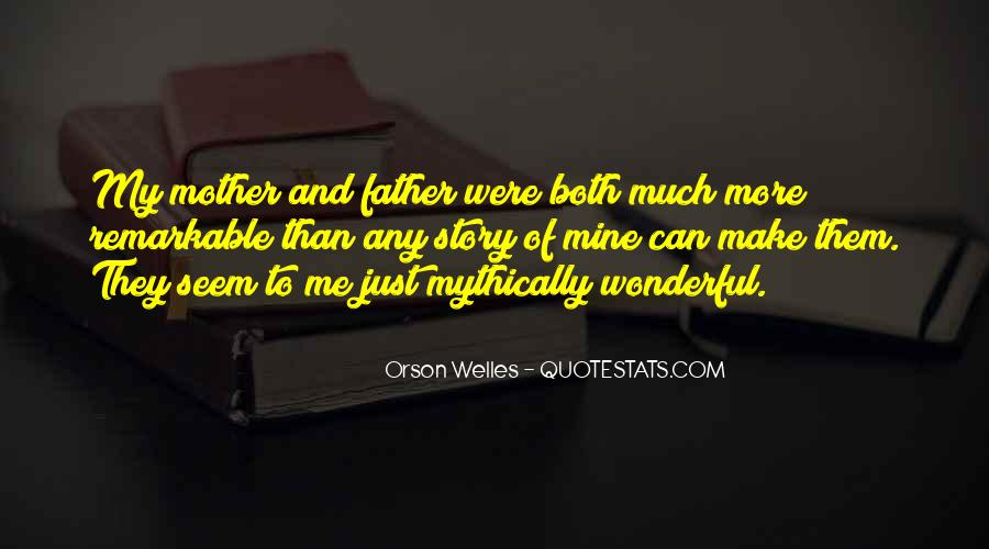 Remarkable Father Quotes #1761723