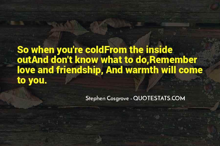 Remember Me Friendship Quotes #1432113