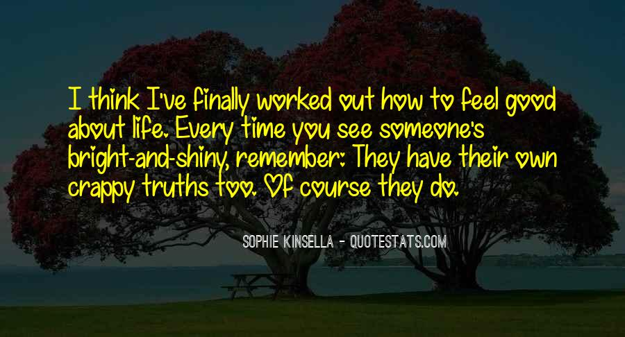 Remember Me Sophie Kinsella Quotes #257924