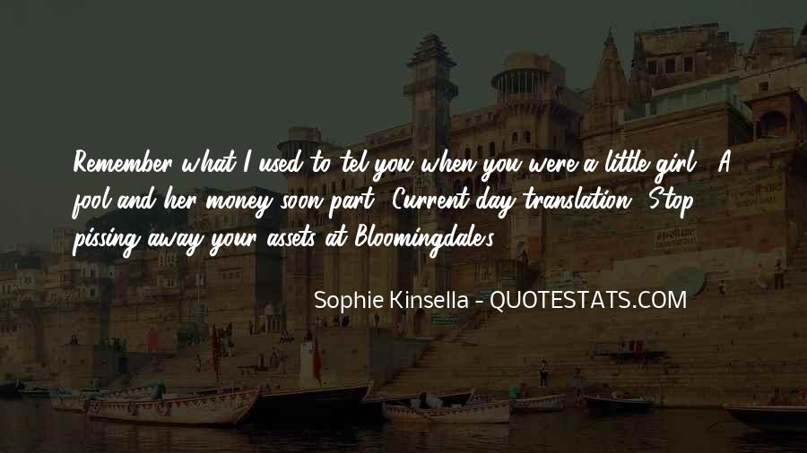 Remember Me Sophie Kinsella Quotes #472665