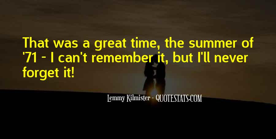 Remember The Time Quotes #115613