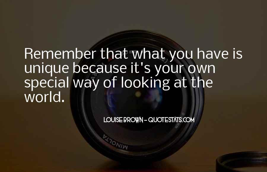 Remember You Are Special Quotes #1009965