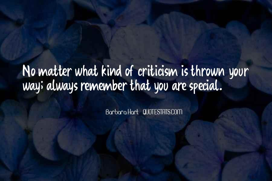 Remember You Are Special Quotes #1201703