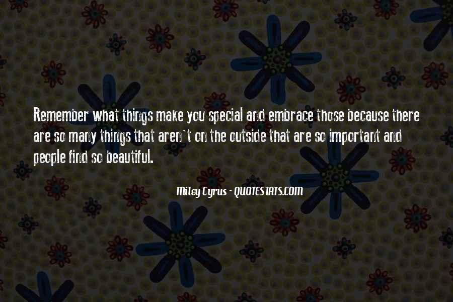 Remember You Are Special Quotes #1543897