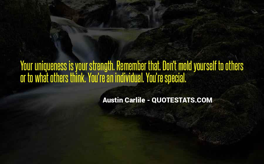 Remember You Are Special Quotes #728034