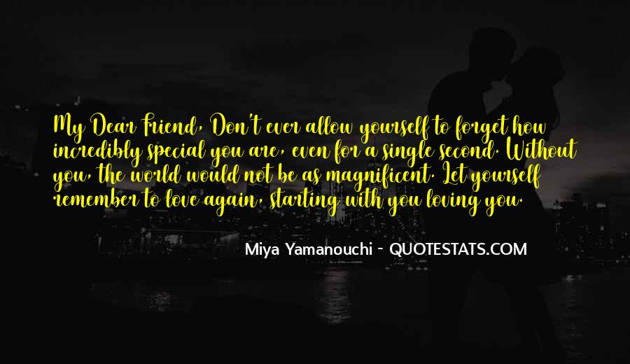 Remember You Are Special Quotes #890498