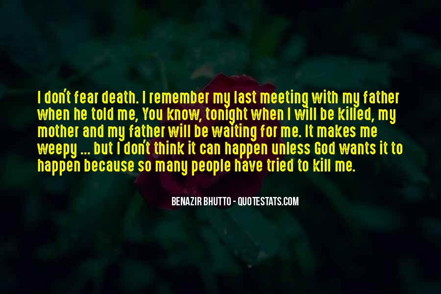 Remember You Death Quotes #1150647