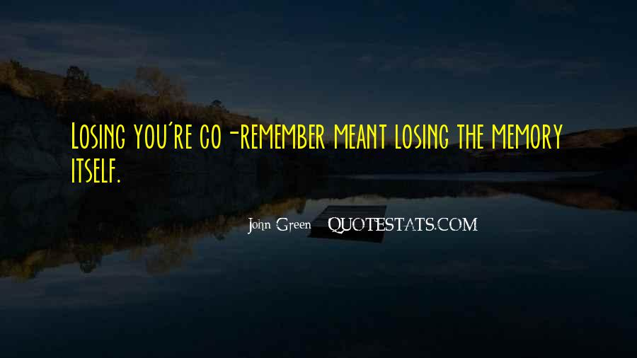 Remember You Death Quotes #130215