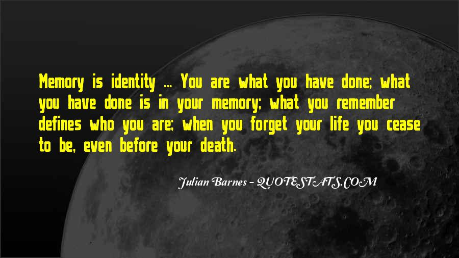 Remember You Death Quotes #1356185
