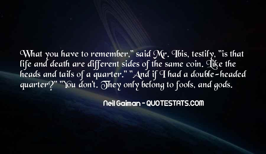 Remember You Death Quotes #1863442
