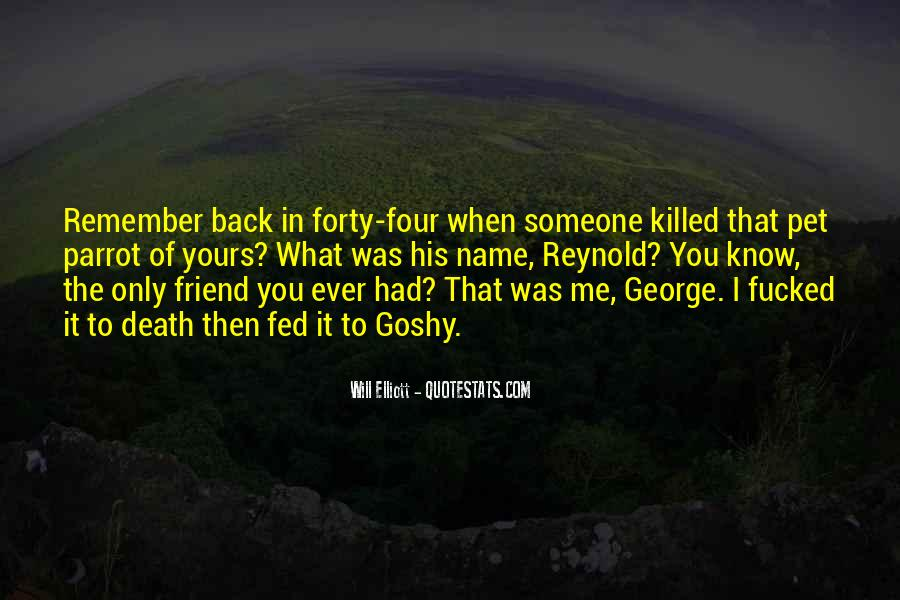 Remember You Death Quotes #248203