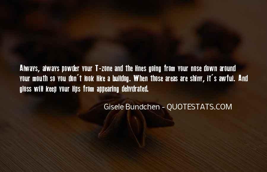 Quotes About Gisele Bundchen #1159051