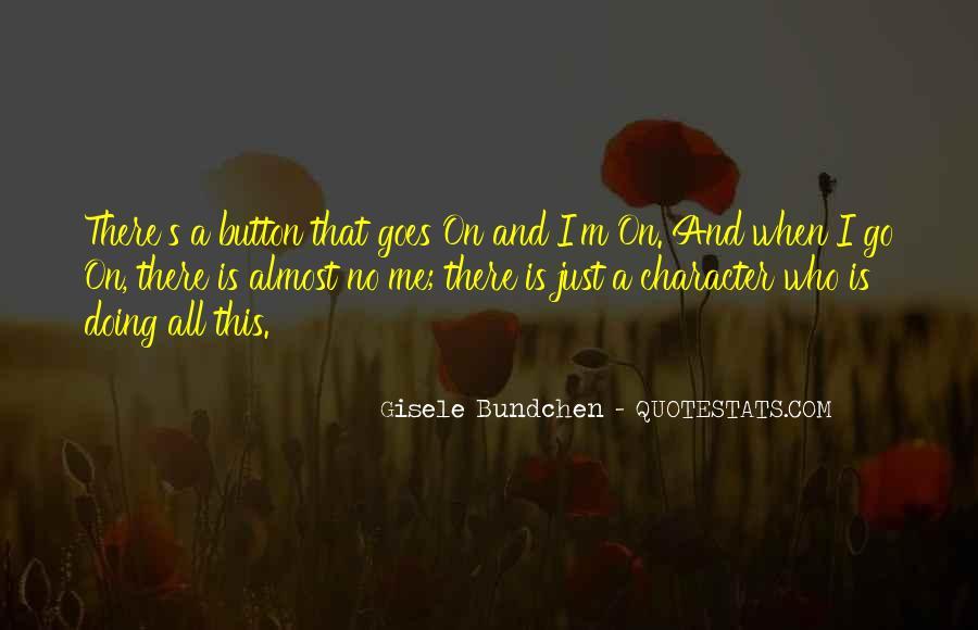 Quotes About Gisele Bundchen #1355600