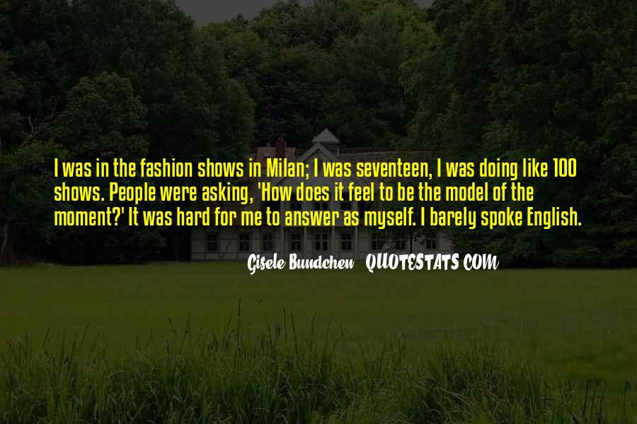 Quotes About Gisele Bundchen #30700