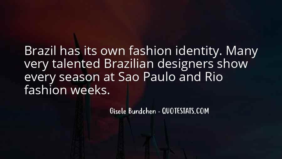 Quotes About Gisele Bundchen #51975