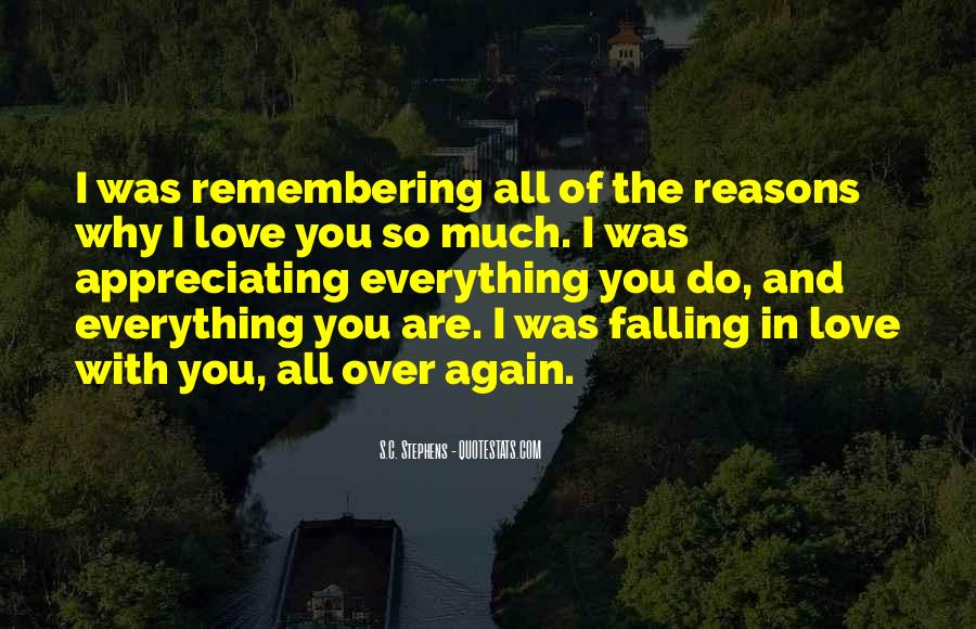 Remembering My Love Quotes #541971