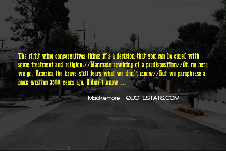 Quotes About Macklemore #247302