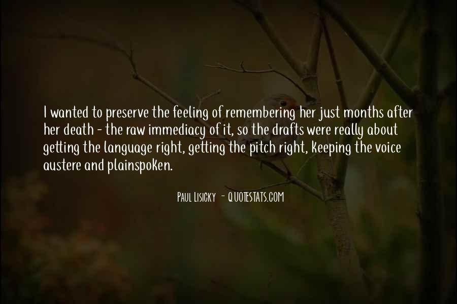 Remembering You After Death Quotes #1679646