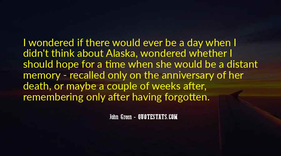 Remembering You After Death Quotes #937301