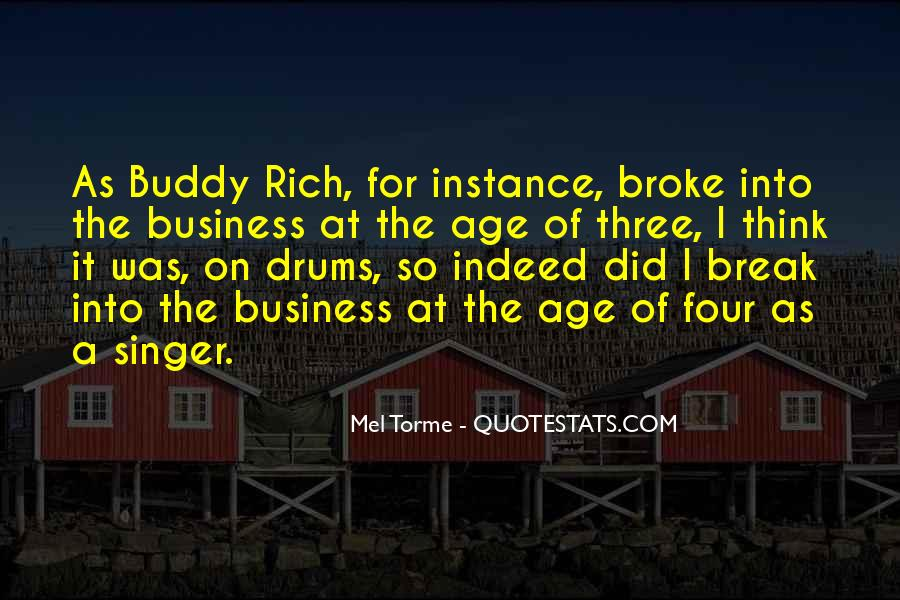 Quotes About Buddy Rich #153603