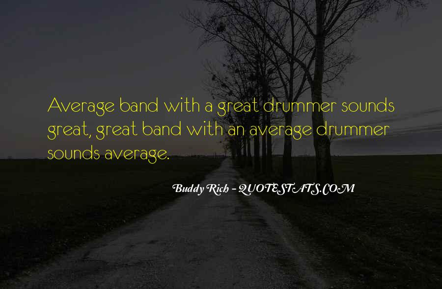 Quotes About Buddy Rich #682055