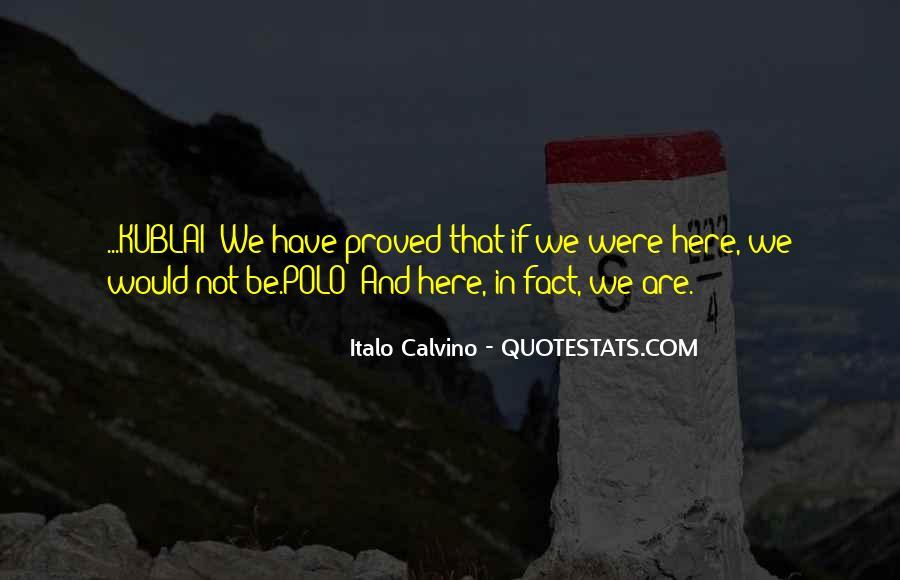 Quotes About Italo Calvino #175579