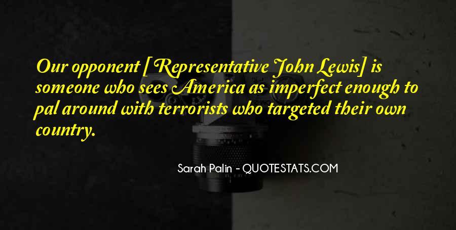 Representative John Lewis Quotes #1787619
