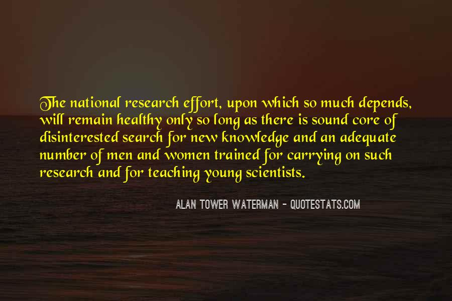 Research And Teaching Quotes #1408596