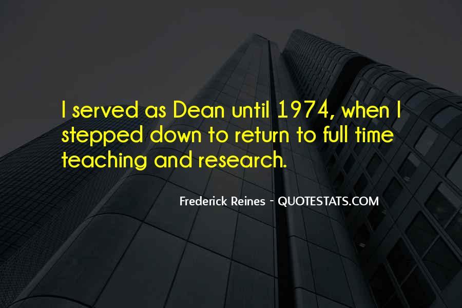 Research And Teaching Quotes #147046