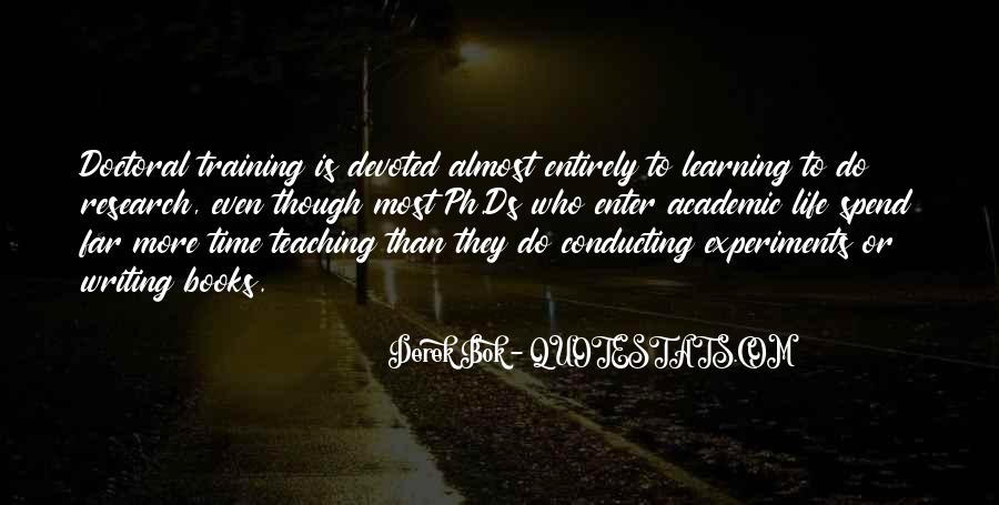 Research And Teaching Quotes #452601
