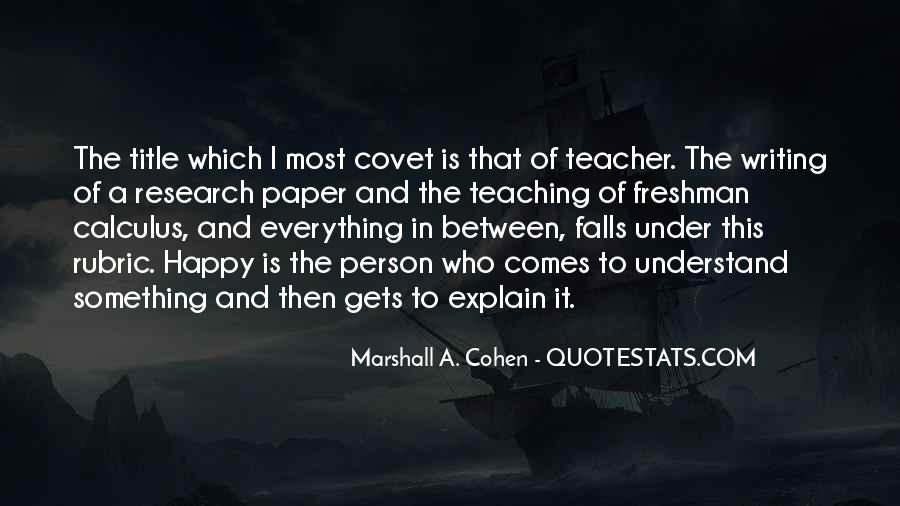 Research And Teaching Quotes #509033
