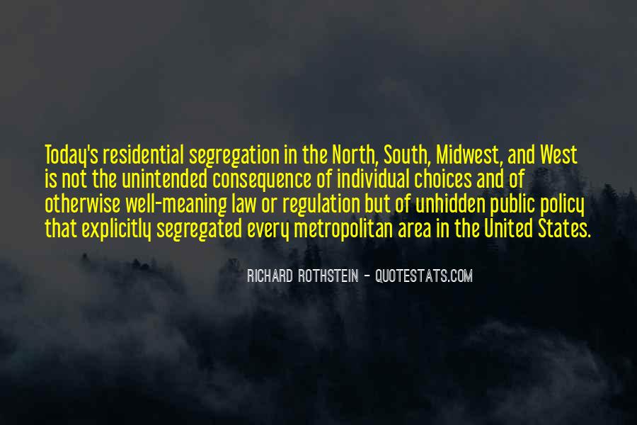 Residential Segregation Quotes #1651473
