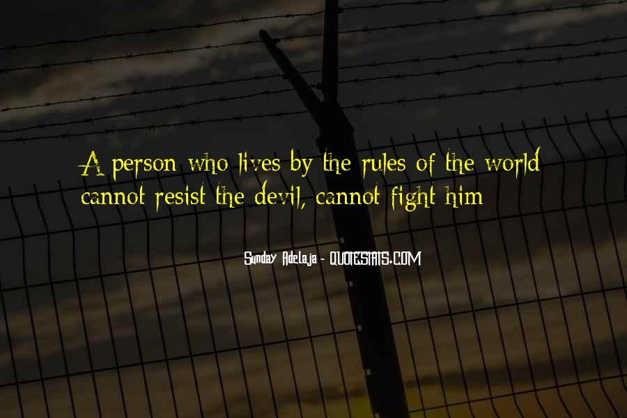 Resist The Devil Quotes #1509520