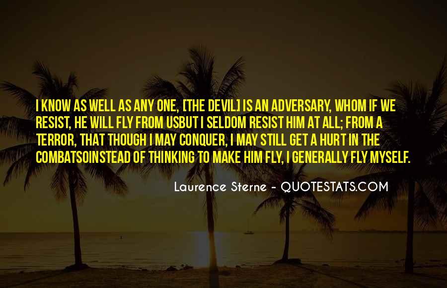 Resist The Devil Quotes #557224