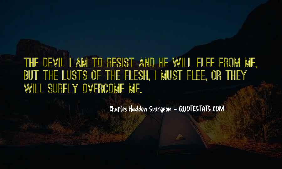 Resist The Devil Quotes #828862