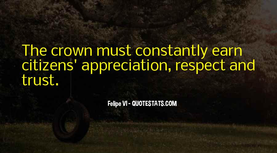 Respect Each Others Quotes #10168