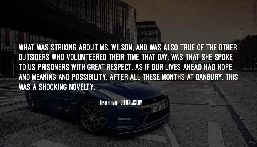Respect Each Others Quotes #10259