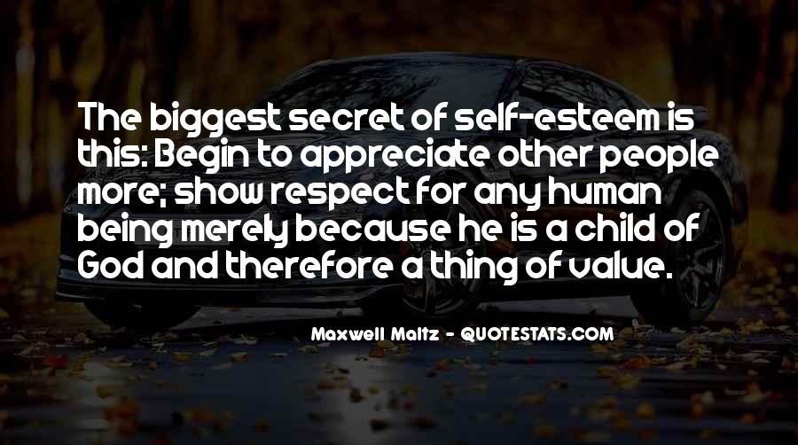 Respect Each Others Quotes #12371