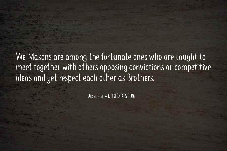 Respect Each Others Quotes #1309625