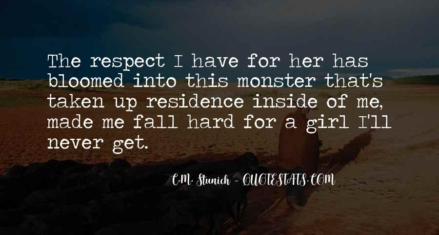 Respect Each Others Quotes #3095