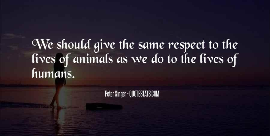 Respect Each Others Quotes #5585