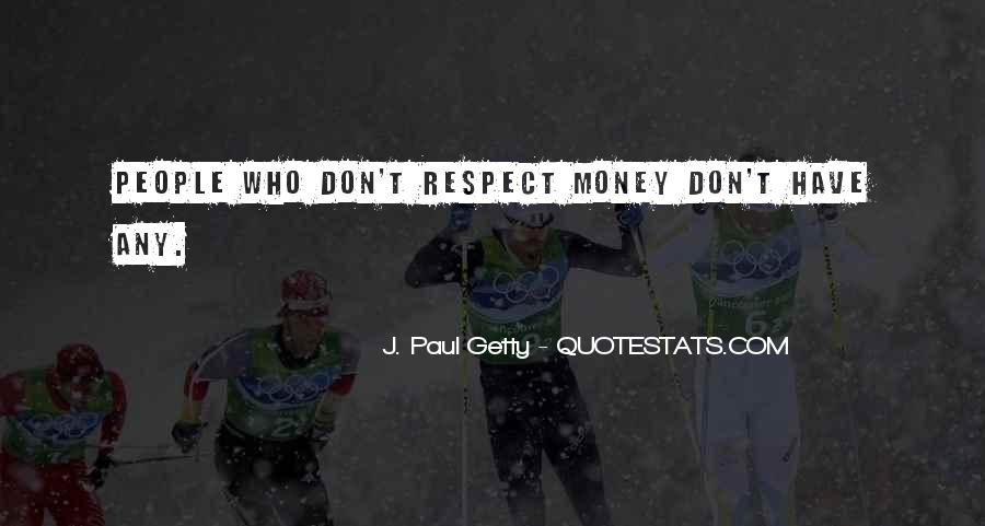 Respect Each Others Quotes #6723