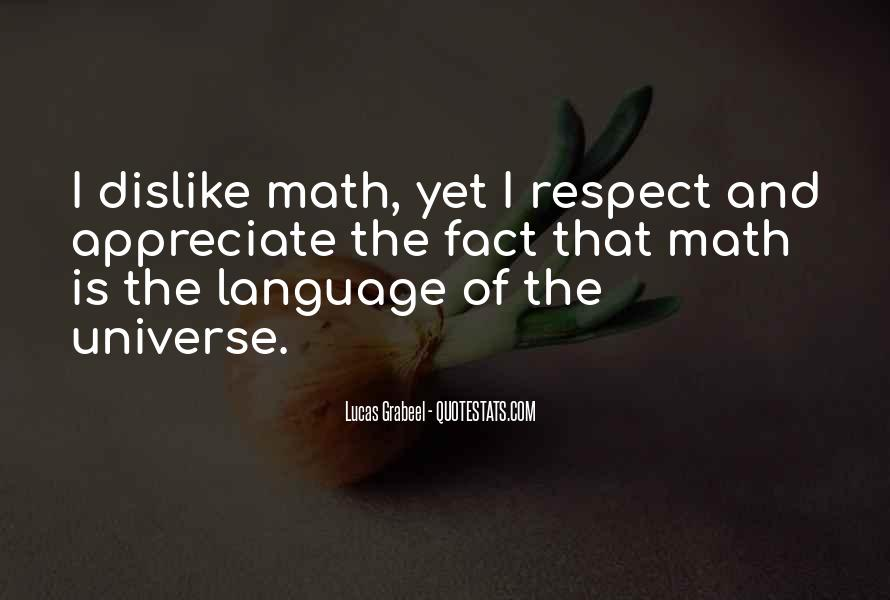 Respect Each Others Quotes #7395