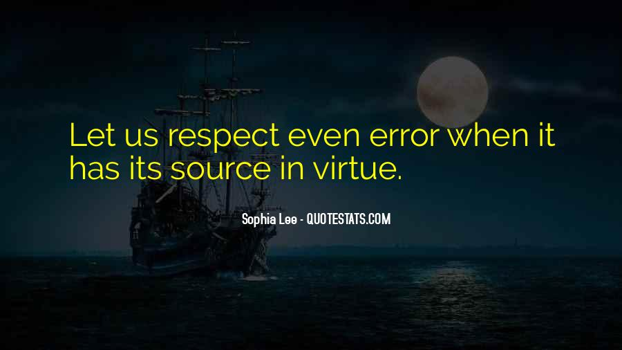 Respect Each Others Quotes #8578