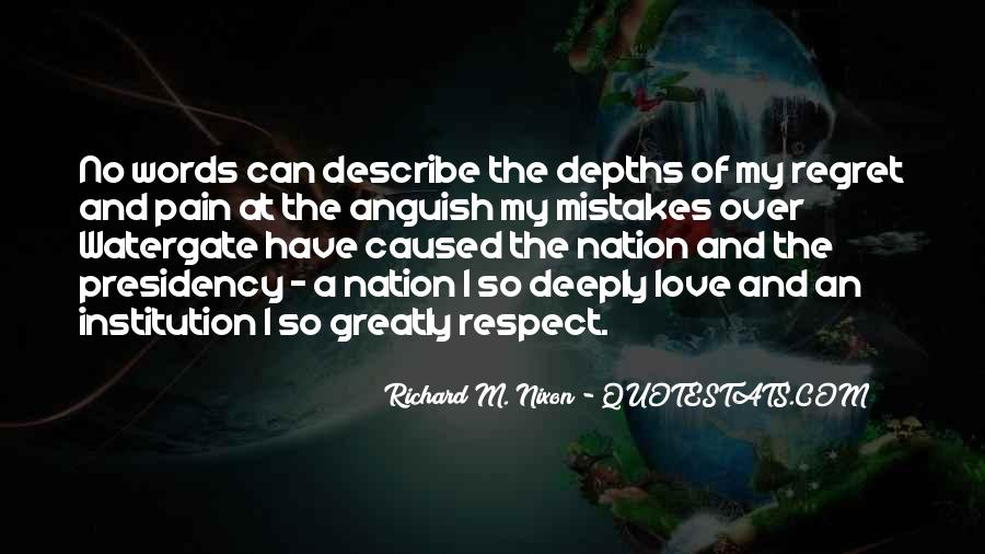 Respect Over Love Quotes #1116251