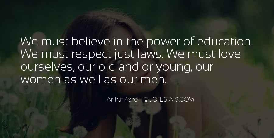 Respect Over Love Quotes #46831